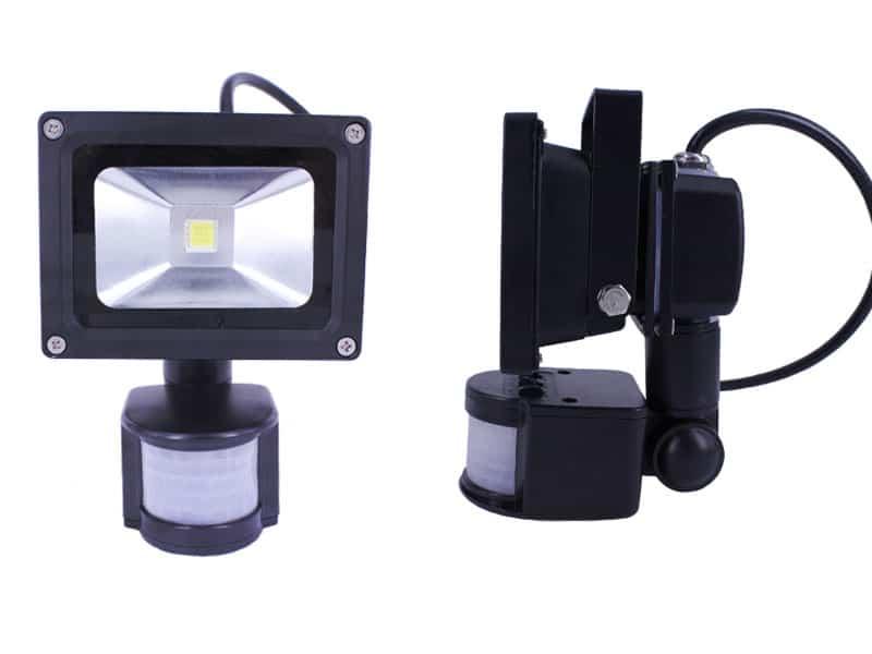 motion sensor flood light. Black Bedroom Furniture Sets. Home Design Ideas