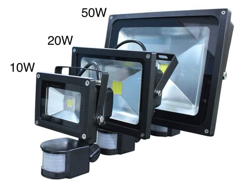 motion sensor led security flood light oznium. Black Bedroom Furniture Sets. Home Design Ideas